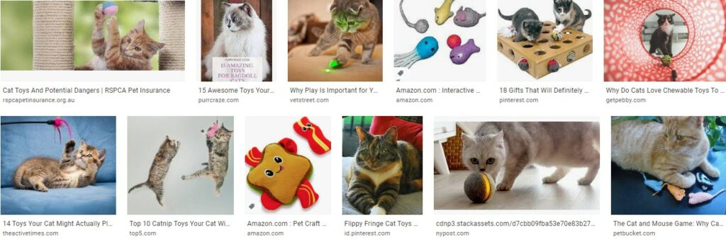 Gift for cat lover - the toys cats will love you