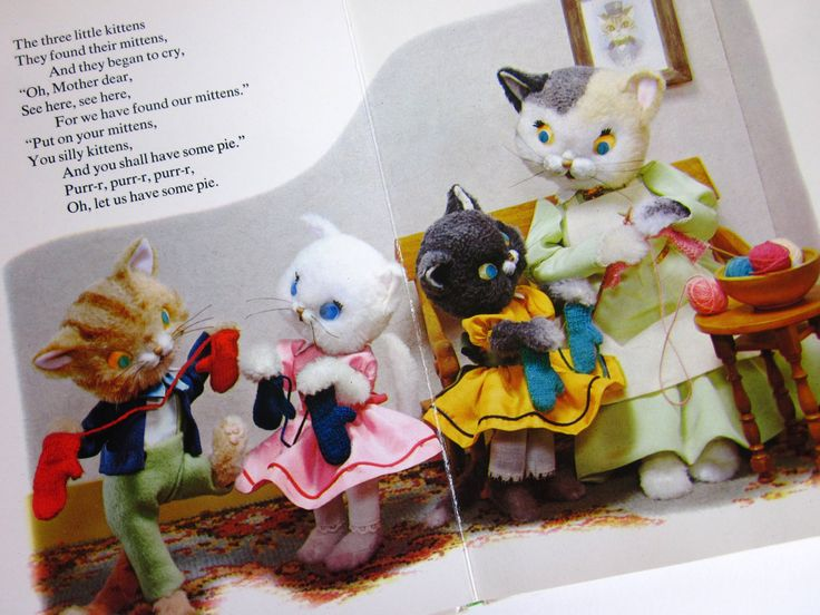 Three Little Kittens Book Despicable Me