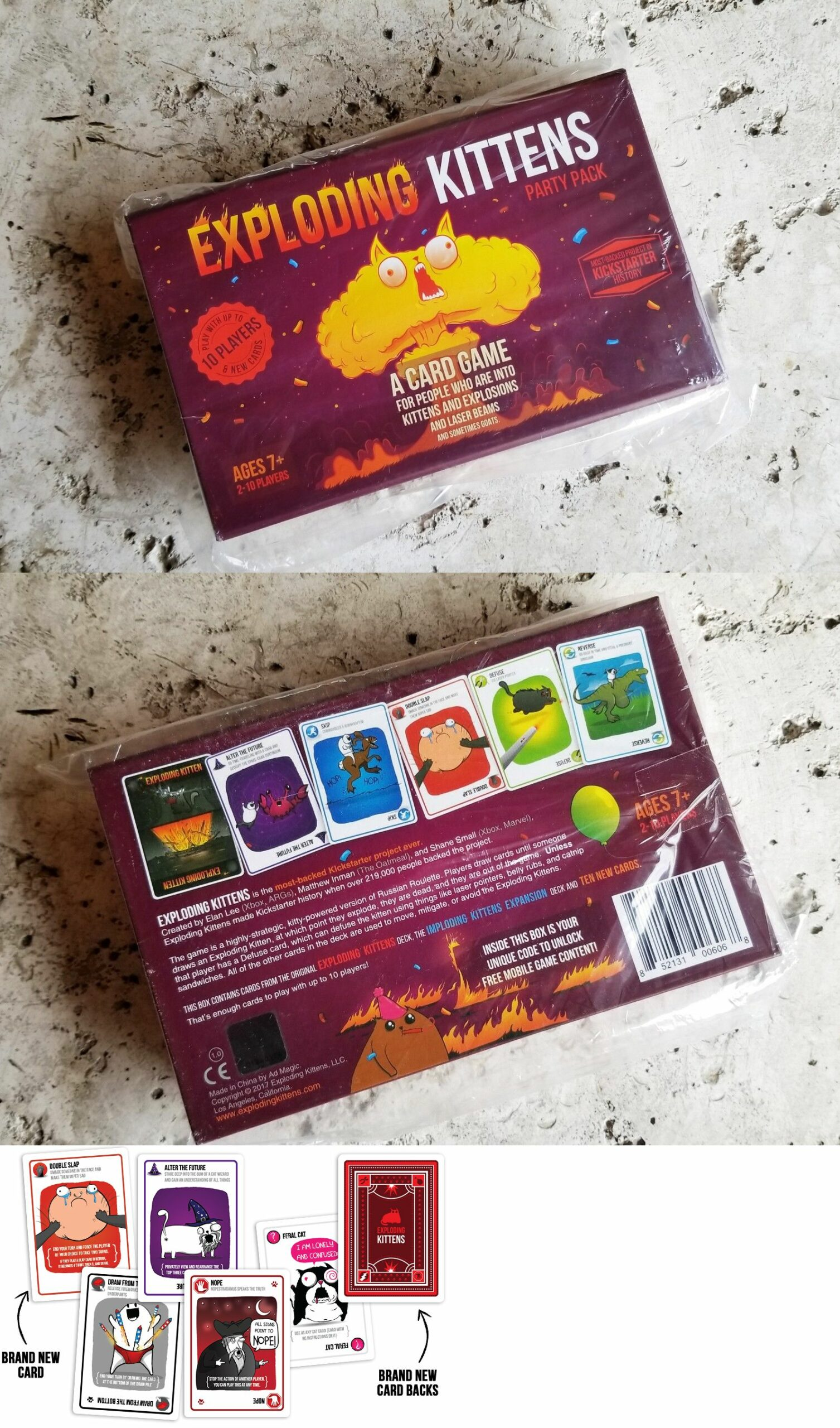 Exploding Kittens Party Pack Target